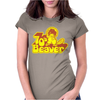 70's Seventies Beaver Womens Fitted T-Shirt