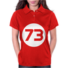 73 Distressed Circle Womens Polo