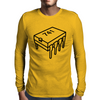 741 Op-Amp Chip Mens Long Sleeve T-Shirt