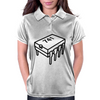 741 Op-Amp Chip Womens Polo