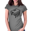741 Operational Amplifier Chip (op-amp) Womens Fitted T-Shirt