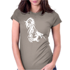 8 dragon chinese Womens Fitted T-Shirt