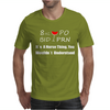 8 oz PO BID PRN wine funny Mens T-Shirt