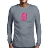#8 Pink CAMO Mens Long Sleeve T-Shirt