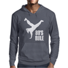 80's Rule Break Dancer Mens Hoodie