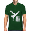 80's Rule Break Dancer Mens Polo