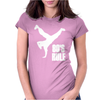 80's Rule Break Dancer Womens Fitted T-Shirt