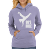 80's Rule Break Dancer Womens Hoodie