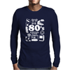 80s Survival Guide Cassette High Mens Long Sleeve T-Shirt