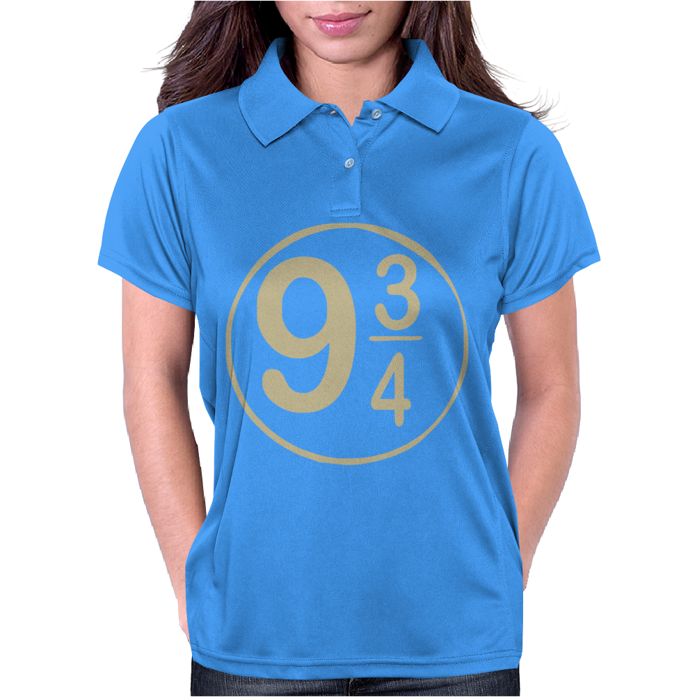 9 3-4 Hogwarts Womens Polo