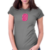 #9 Pink CAMO Womens Fitted T-Shirt
