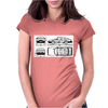 900 Saab Womens Fitted T-Shirt