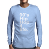 90'S HIP HOP Mens Long Sleeve T-Shirt