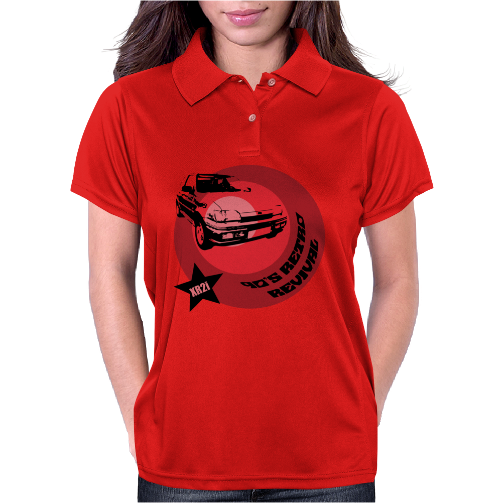 90's Retro Revival Classic XR2i Car Womens Polo