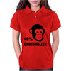 98% Chimpanzee Womens Polo