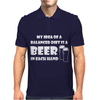 A Balanced Diet Is A Beer In Each Hand Mens Polo