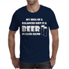 A Balanced Diet Is A Beer In Each Hand Mens T-Shirt