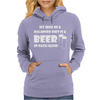 A Balanced Diet Is A Beer In Each Hand Womens Hoodie