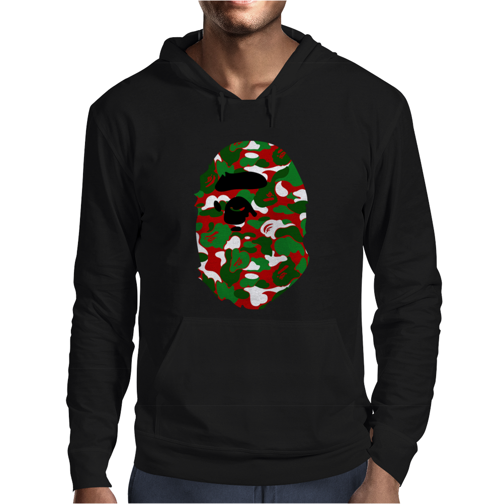 A Bathing Ape Camo Big Ape Head 2016 Mens Hoodie