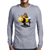 A Bear in its Free Time Mens Long Sleeve T-Shirt
