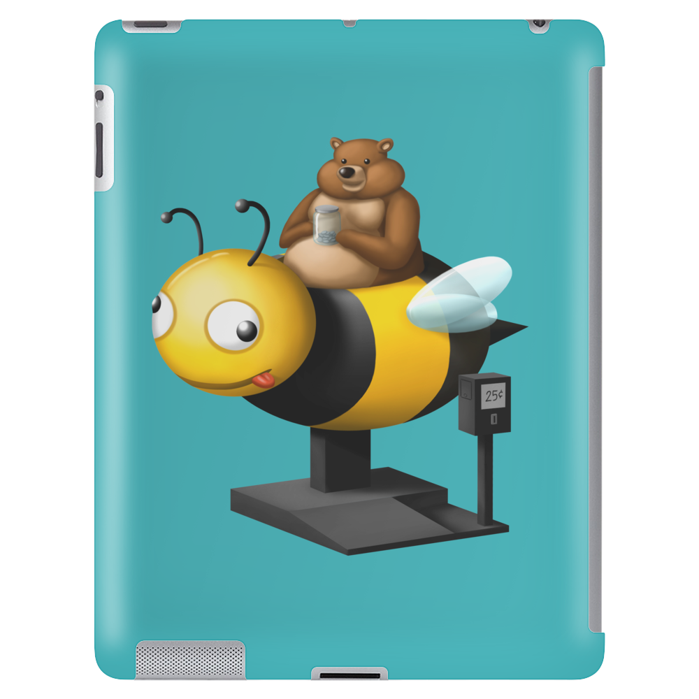 A Bear in its Free Time Tablet (vertical)