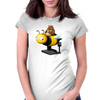 A Bear in its Free Time Womens Fitted T-Shirt