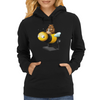 A Bear in its Free Time Womens Hoodie
