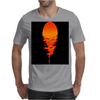 A beautiful sunset over the ocean Mens T-Shirt