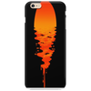 A beautiful sunset over the ocean Phone Case