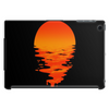 A beautiful sunset over the ocean Tablet