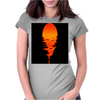 A beautiful sunset over the ocean Womens Fitted T-Shirt