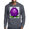 A Beautiful Violet Lotus Flower Mens Hoodie