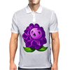 A Beautiful Violet Lotus Flower Mens Polo