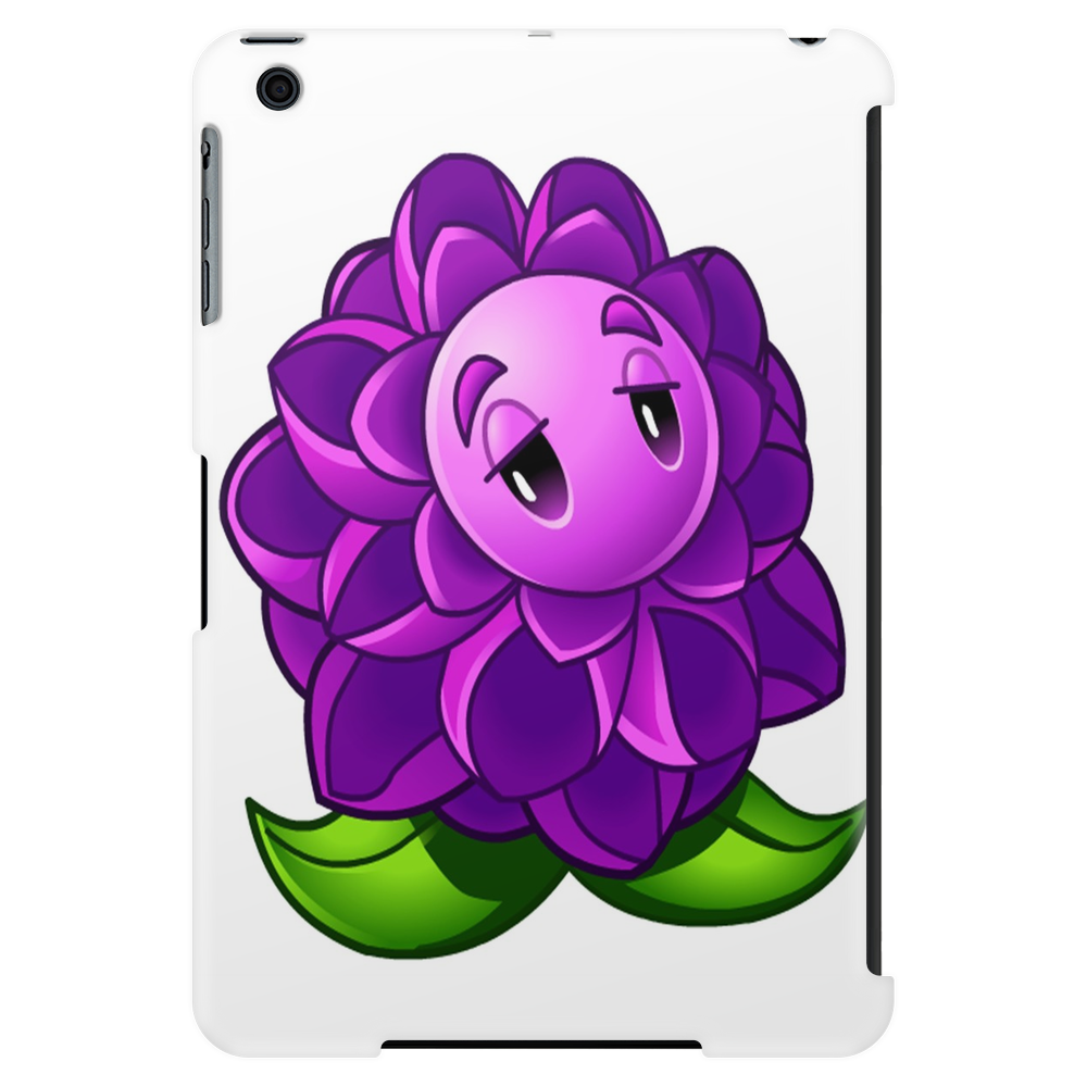 A Beautiful Violet Lotus Flower Tablet