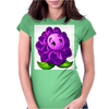 A Beautiful Violet Lotus Flower Womens Fitted T-Shirt