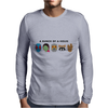 A Bunch of A-Holes Mens Long Sleeve T-Shirt
