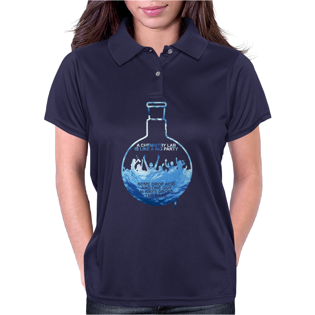 A Chemistry Lab Womens Polo