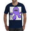 A cute Blob Monster with Huge Eyes Mens T-Shirt