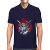 A deadly attack on the bulldog Mens Polo