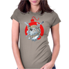 A deadly attack on the bulldog Womens Fitted T-Shirt