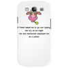 A friend asked me to go Cow tipping Phone Case