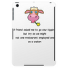 A friend asked me to go Cow tipping Tablet (vertical)