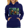 A Gathering of Planets Womens Hoodie