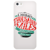 A Journey Of Thousand Miles Phone Case