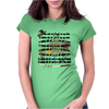 A little bit of the walking dead Womens Fitted T-Shirt