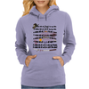 A little bit of the walking dead Womens Hoodie