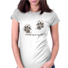 A loving way to say 'Hi'! Womens Fitted T-Shirt