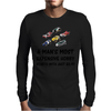 A MAN'S MOST EXPENSIVE HOBBY Mens Long Sleeve T-Shirt