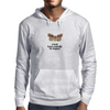 A Moth is just a Butterfly on welfare  Mens Hoodie