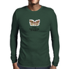A Moth is just a Butterfly on welfare  Mens Long Sleeve T-Shirt